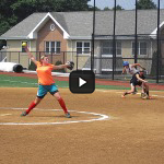 Summer Softball Camp - Pitching Action Shot