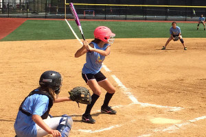 Softball Camps - Awaiting Pitch