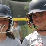 Softball Camp - Players Batting Practice