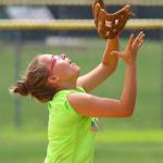 Softball Camp Training - Fielding Popups