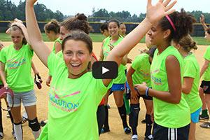 Summer Softball Camp - Girls Softball Fun