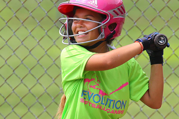 Summer Softball Camp - Softball Girl At Bat