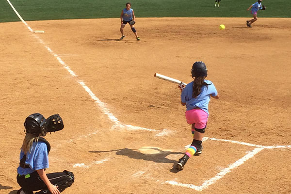 Summer Softball Camp - Batting Making Contact Randolph Macon College