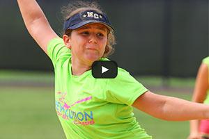 Softball Summer Camps - Pitching Windup