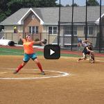 Summer Softball Camp - Pitching Action Shot