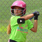Summer Softball Camp - Girl Batting Practice