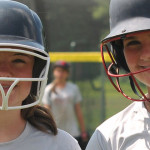 Summer Softball Camp - Softball Girls Smiling