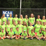 Summer Softball Camp - Softball Girls Group Randolph Macon College