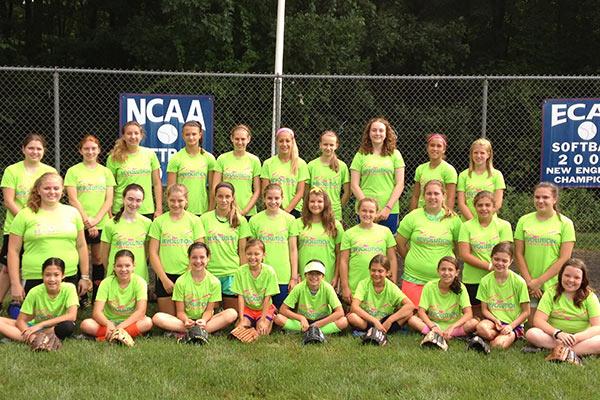 Summer Softball Camp - Softball Girls Group Randolph Macon College