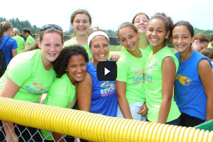 Revolution Softball Camp Camaraderie