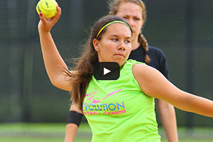 Summer Softball Camp - Throwing Softball
